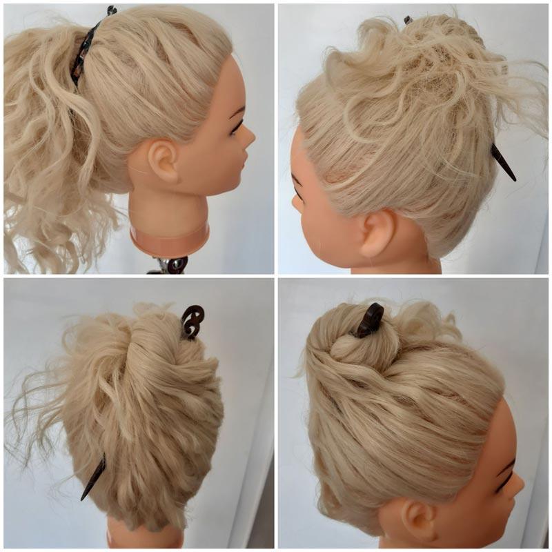 Kurs für schöne Frisuren