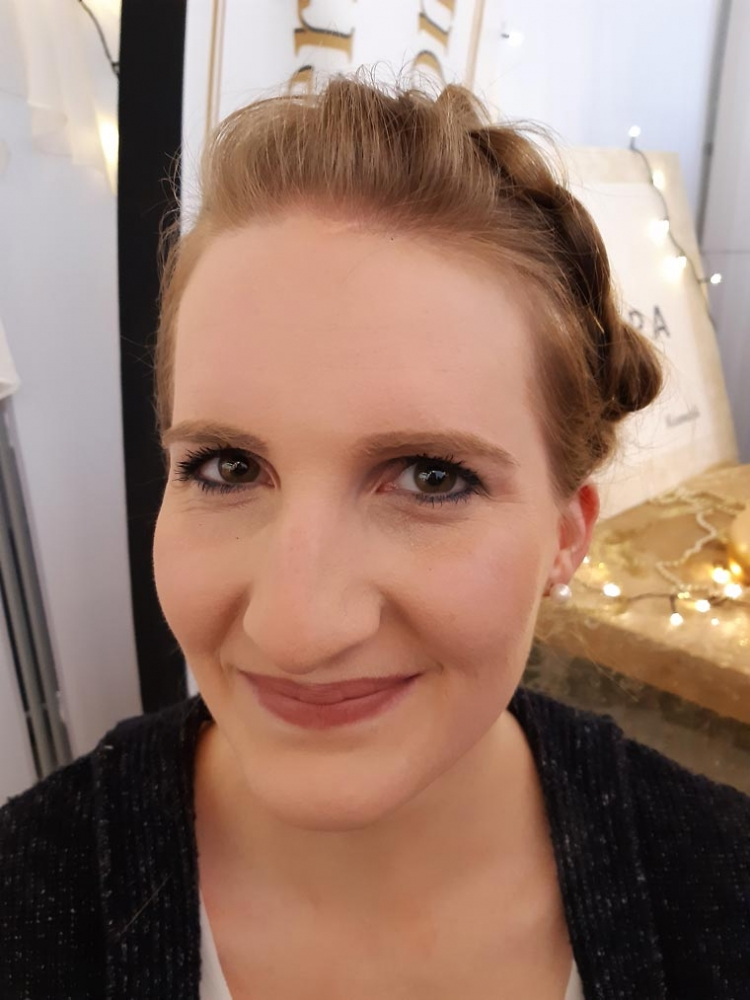 Natürliches Make-up für die Hochzeit