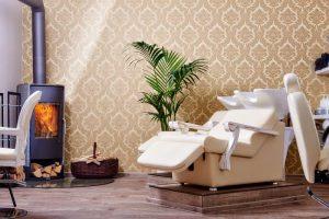 Waschbecken zum Haare waschen